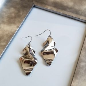 Alexis Bittar Crumpled Wire Earrings